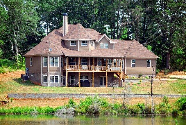 Home House Architecture Landscape Upscale Luxury