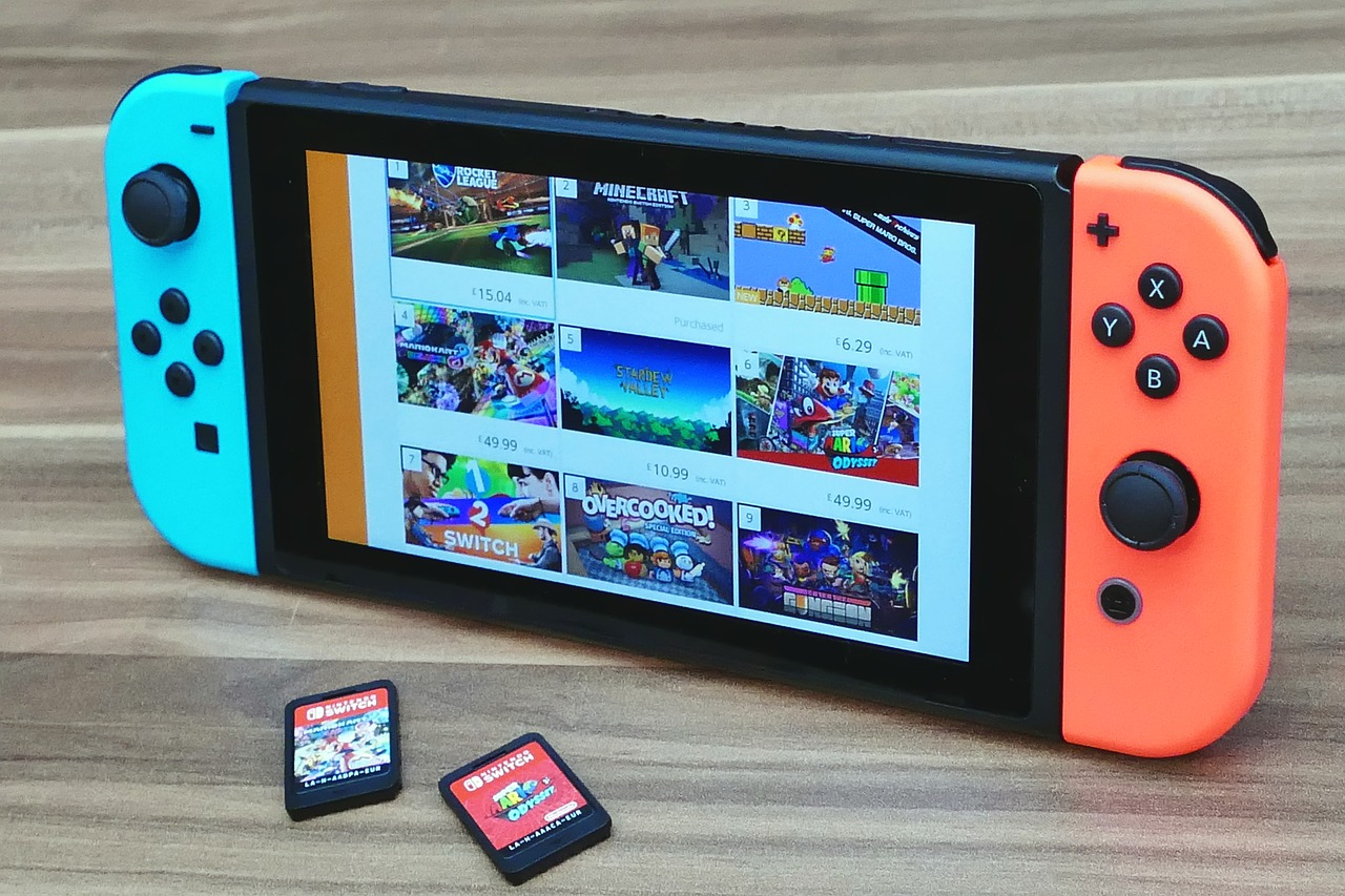 Nintendo Switch Nintendo Console Game Video Play